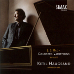Ketil Haugsand: J.S. Bach: Goldberg Variations cover