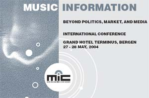 Music Information beyond politics, market and media - brosjyre header